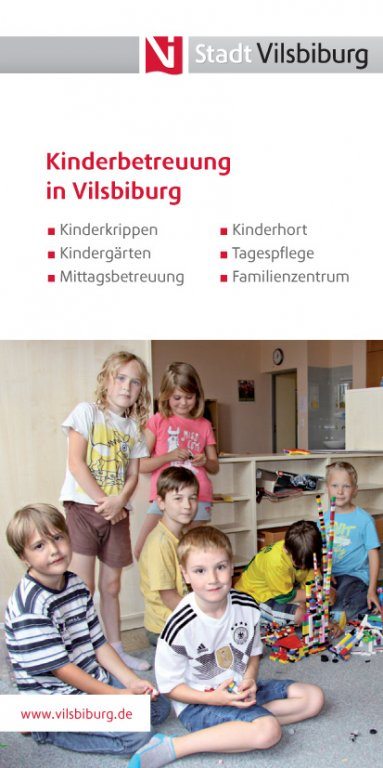 Flyer - Kinderbetreuung in Vilsbiburg
